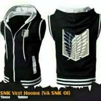 jaket rompi attack on Titan