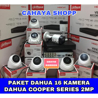 PROMO PAKET CCTV DAHUA 16 CHANNEL 16 KAMERA 2MP FULL HD + HDD 2TB