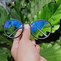 frame kacamata minus paket lensa anti blue ray