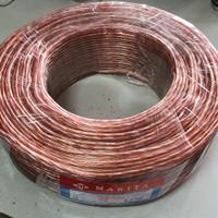 Kabel Audio Speaker Makita Monster Transparant 2 x 80 Roll (100 meter)