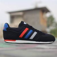 Sepatu pria adidas neo city racer BNWB - Hitam