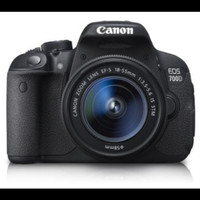 DSLR Canon EOS 700D kit 18-55mm stm - paket 1