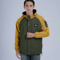 jaket outdoor / jaket winter / jaket anti air / jaket musim dingin - Kuning, M