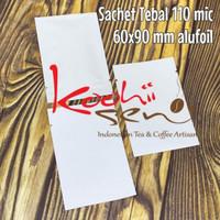 Kemasan Sachet Mini 60x90mm Tebal 110 mic Food Grade Premium Packaging