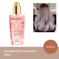 Kerastase elixir ultime serum hair oil pink rambut rusak diwarnai