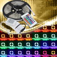 Lampu Tumblr Hias Led Strip RGB 3528 SMD Warna Warni 5 Meter Remot Set