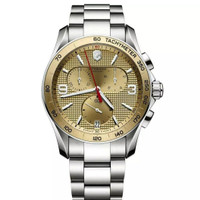 Victorinox Swiss Army Men's Watch Chrono Gold Tone Dial - Original