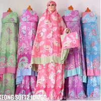 Mukena batik cantik katun rayon bali murah GROSIR adem jumbo dewasa