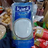 kara coconut oil 1 liter / pak