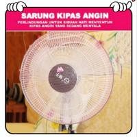 Sarung Kipas Angin/ Fan Cover /Pelindung Kipas Angin Anak