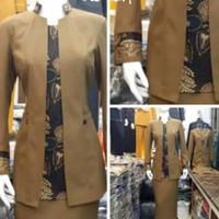 SERAGAM / BLAZER GURU PNS / BAJU PEMDA COKLAT TUA (bisa order celana)
