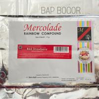 mercolade chocolate compound/coklat batang warna warni