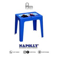 Meja Belajar Anak Karakter / Meja Plastik Napolly /Laptop Table Frozen