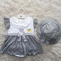 baju anak perempuan - dress pesta anak bayi cewek perempuan murah -flo
