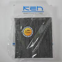 Filter ac saringan udara honda brio satya karbon black