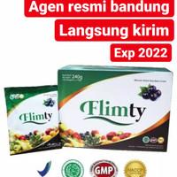 Flimty 15gram x 16sachet minuman berserat fiber diet