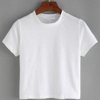 Tambahan Kaos Putih Polos Anak untuk Tie Dye Kit 1-8thn