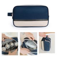 PANACHE Double Layer Flawless Cosmetic Travel Bag WashBag Tas Kosmetik