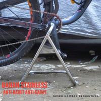 Paddock Hollowtech Stand Bike Standar Tengah Stainless