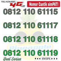 Nomor Cantik Simpati telkomsel 4G LTE seri triple 111x
