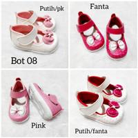 Sepatu Anak Perempuan Usia 1 2 Tahun Pita Lucu Bunyi Citcit