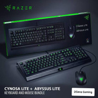 Razer Cynosa Lite Keyboard + Razer Abyssus Lite Gaming Mouse Bundle