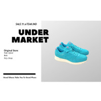 sepatu sneakers pria piero jogger premium bubblegum