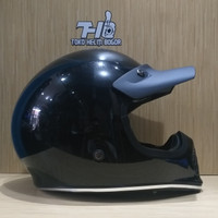 helm JPX Retro Signature solid Black Metalic