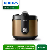 New Produk Rice Cooker Philips Serie 5000 2L - HD3138 - Gold