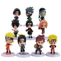 Action Figure Naruto Chibi Set isi 10