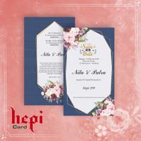 Blanko Undangan Pernikahan Hepi 299 Murah