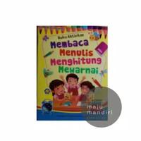 Buku aktivitas anak membaca menulis menghitung mewarnai