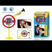 mainan anak setiran mobil /electronic back side drive