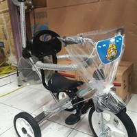 sepeda roda tiga safari stenlees terbaru 2018