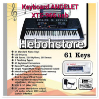 Keyboard piano ANGELET XTS-966 61key USB MIDI TERLENGKAP ORIGINAL