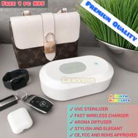 UV Sterilizer Box Wireless Charger Multifungsi UVC Disinfectant