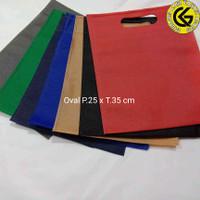 Lipat Bawah (25x35) Goodiebag / Totebag Spunbond 75 gr