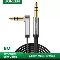 Ugreen kabel audio 3.5mm male to cowok aux speaker smartphone jack 5m