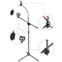 Stand Mic Stand Microphone Berdiri pop filter shock Mounth Holder