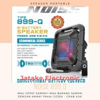 SPEAKER WIRELESS PORTABLE BATERAI NOISE 899 Q 8 INCH