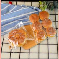 plastik roti sisir, manis , burger 18x33 isi 25 pcs kemasan roti