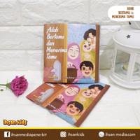 Buku Cerita Anak Islam Adab Bertamu dan Menerima Tamu
