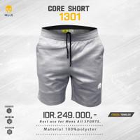 MILLS Timnas Indonesia Football Core Short Grey new 2020 original