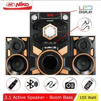 (Expedisi) Speaker Thunder NIKO Slank Bluetooth Karaoke 105 Watt