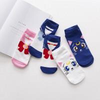 Kaos Kaki Sailor Moon Luna Cat Sailormoon Cute Socks Anak & Dewasa