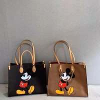 Mickey Leather Tote Shopping Bag M9603