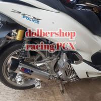 knalpot racing wrc honda PCX original free request bikin nama