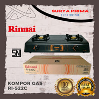 Kompor Gas Rinai RI 522 C/ hitam