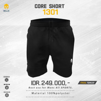 MILLS Timnas Indonesia Football Core Short Black new original 2020