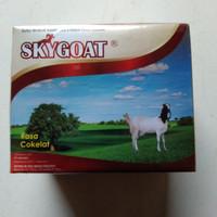 susu kambing etawa full cream SKYGOAT cokelat